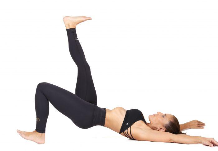 Espalda saludable, abdomen competente.