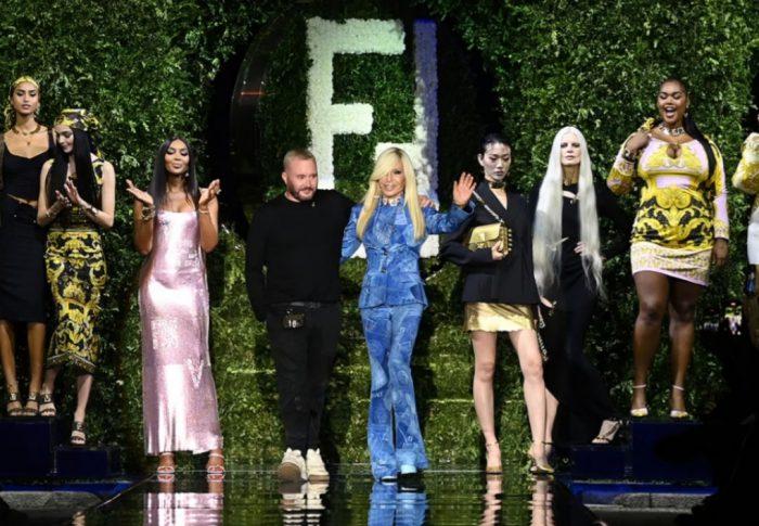 Versace y Fendi hacen historia con «FENDACE»