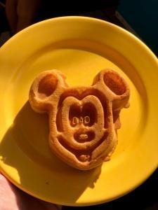 chef mickey waffle