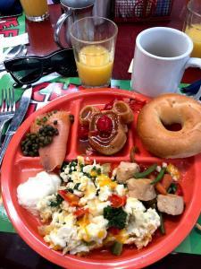 desayuno chef mickey
